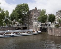 Rondvaartboten in Amsterdam
